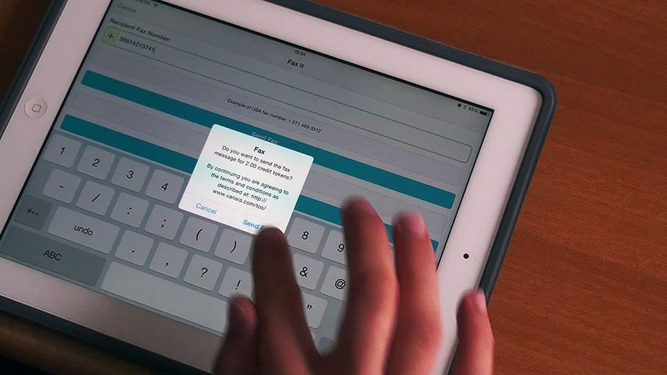 ScanWritr Mobile App - Vanaia